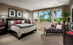The spacious upstairs master suite includes a spa-like bath with soaking tub and expansive walk-in closet. - Residence Six at Stratford at Parkgate in Elk Grove, CA