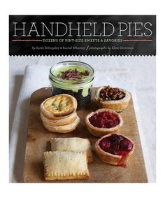 Look what I found on #zulily! Handheld Pies Hardcover #zulilyfinds