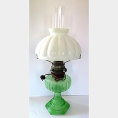 """Aladdin"" Converted Oil Lamp | Kings Auction & Appraisal"