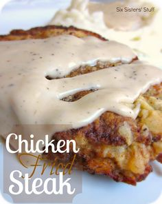 Six Sisters' Stuff: Chicken Fried Steak Recipe...looks fantastic- and it has such a sweet story, too!