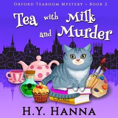 Audiobook Sample Tea With Milk Murder Oxford Tearoom Mysteries Book 2 Narrated By