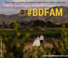 """Tiempo de descubrir #Ensenada & #Valledeguadalupe en #BDFAM ... """"Como viajan y conocen los máximos exponentes de bodas y romance"""". Una experiencia con sabor a vino y mar. De lujo. Con apoyo de @lupitapremier  CUPO LIMITADO. Photo: http://ift.tt/2lEis00 Info: hi@bodasdestinolatinoamerica.com"""