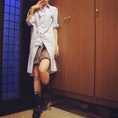 本日。履きにくいけど頑張って履く#bottegaveneta ! #prada #rickowens #celine #adidas #ootd