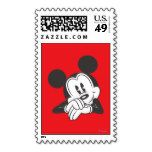 Mickey Mouse 7 Postage Stamp