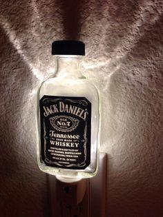 Jack Daniels Nightlight on Etsy $15.00