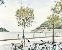 Bicicletas en La Concha