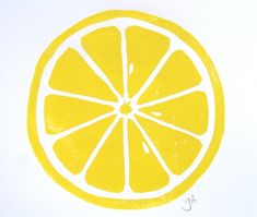 PRINT  Lemon  YELLOW