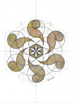 Resultado de imagen para sci fi surrealism occult geometry Geometric Drawing, Mandala Drawing, Mandala Art, Geometric Shapes, Celtic, Sacred Geometry Art, Circle Geometry, Geometry Pattern, Math Art
