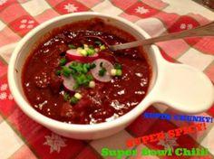 Super Chunky Super Spicy Super Bowl Chili