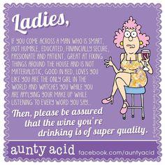 "747 Likes, 28 Comments - Aunty Acid (@auntyaciduk) on Instagram: ""Cheers ladies #auntyacid #wine #winestagram #humor #instagood #instagram #instadaily…"""