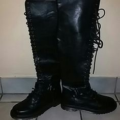 Boots Knee high boots. Great condition! Urban Expressions Shoes Over the Knee Boots