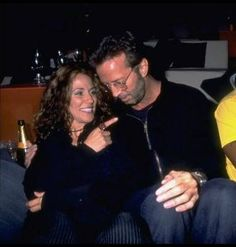 Eric with Cheryl Crow.