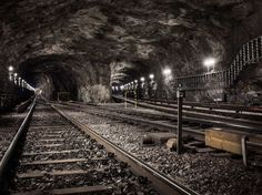 Underground Landscapes by Timo Stammberger #inspiration #photography