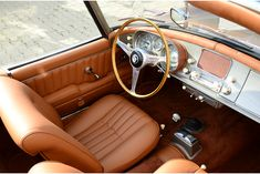 BMW 507 Series II Roadster dimensions specifications  Length     173.1 in  Width     65 in  Height     49.5 in  Front/rear Track     56.7/56 in  Wheelbase     97.6 in  Ground Clearance     7 in