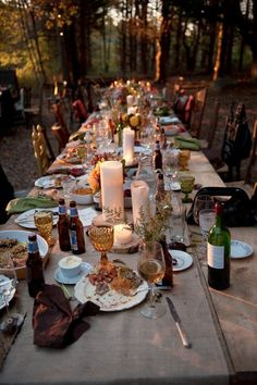 Family-style dining