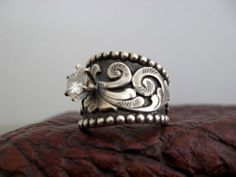 Custom made western wedding rings by Travis Stringer. Contact us on FaceBook. (Ring #64)