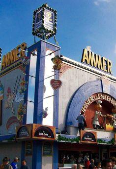 Ammer Beer Tent at Munich Oktoberfest
