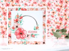 Foto: Blumige Karte mit Produktpaket Painted Seasons von Stampin´ Up!*