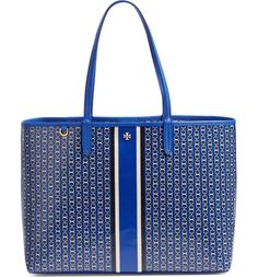 This sleek, sophisticated tote bag provides you with both space and elegance