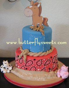 baby western cake