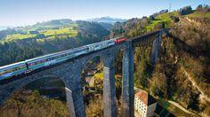 Voralpen Express - Panoramic Train Switzerland - Swiss Travel Pass