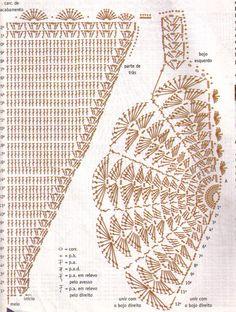Lilinhas: biquini de crochê