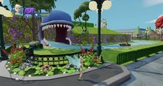 Phineas And Ferb, Disney Infinity, Main Street, Railroad Tracks, Disneyland, Entrance, Maine, Tours, Building