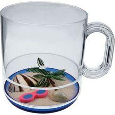 Life's A Beach 12 Oz. Compartment Coffee Mug