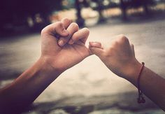The ultimate promise- Pinky Promises :)
