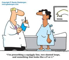 Nursing Humor...pretty much every doctor orders I've ever read....