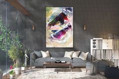Large Abstract wall art,Original Abstract wall art,large art on canvas,xl abstract painting,abstract wall art Large Abstract Wall Art, Large Canvas Art, Large Painting, Painting Canvas, Textured Painting, Knife Painting, Bright Paintings, Abstract Paintings, Art Paintings