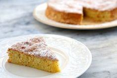 Flourless Lemon Almond Cake: So yesterday we had a visitor who was lactose & gluten intolerant and another visitor who had an allergy to chocolate. I made this recipe, hoping it would taste good- and it did! Now I know what to do with that left over almond flour from making almond milk.