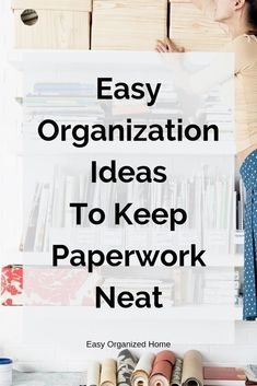Home Office Organization Bedroom Organizing Ideas 33 Ideas Folder Organization, Bedroom Organization Diy, Home Office Organization, Paper Organization, Professional Organizing Tips, Decluttering Ideas Feeling Overwhelmed, Organizing Paperwork, Organizing Ideas, Diy Home