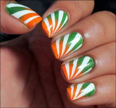 NOTD- Happy Independence Day!!!! by crazypolishes.com http://www.crazypolishes.com/2013/08/notd-happy-independence-day.html