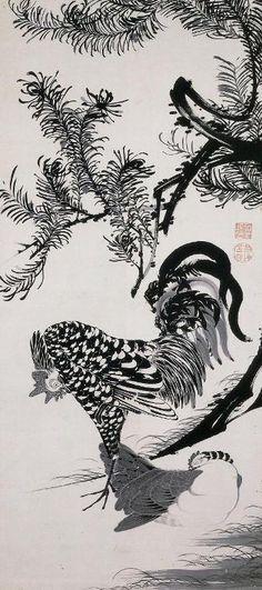 千葉市美術館で「伊藤若冲―アナザーワールド―」展を観た! の画像|とんとん・にっき
