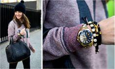 Lovely Pepa wears TOUS Fashion Bloggers, Street Style, Jewellery, How To Wear, Accessories, Jewels, Urban Style, Schmuck, Street Style Fashion