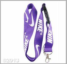 Nike Sports Neck Lanyard Snap Buckle (PURPLE)