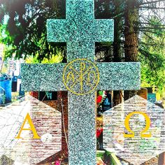 Встречали такие символы? И что они означают? 🔹Альфа и Омега - первая и последняя буква греческого алфавита. 🔹По сакральной традиции, в них - ключ к таинствам вселенной. 🔹Альфа и Омега представляют...