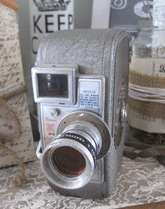 vintage keystone capri 8mm camera made in usa by OkioBVintage, $15.00