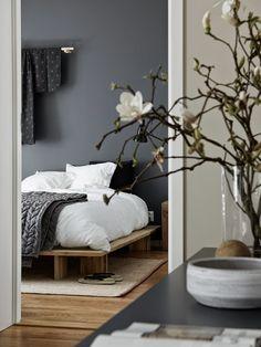Grey, white, wood