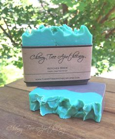 """Witches Brew Handcrafted Soap  - """"Cherry Tree Apothecary"""""""