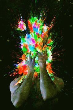 explosão de cores tumblr - Pesquisa Google