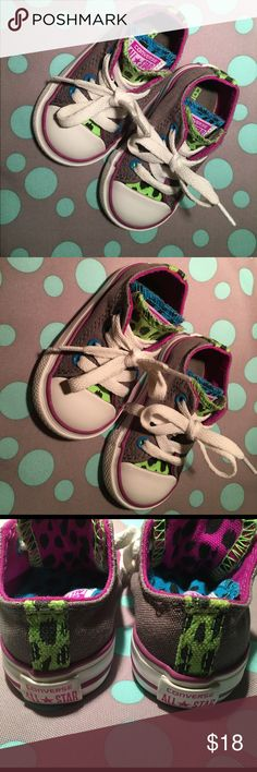 Converse All Star Toddler 4 Adorable doesn't evening describe these sneakers!!! They are in GREAT condition. Toddler 4 Converse Shoes Sneakers
