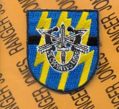 12th Special Forces Group Airborne Reserve Beret Flash Patch DUI | eBay