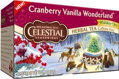 Cranberry Vanilla Wonderland @Influenster  @CelestialTea  #CelestialTea  #Contest #frostyvoxbox
