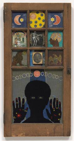 Betye Saar. Black Girl's Window. 1969
