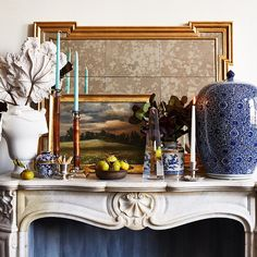 Perfect fall mantle.