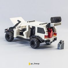 Amg Logo, Lego Truck, Lego Army, Lego Builder, Jeep Cherokee Xj, Cool Lego Creations, Lego Design, Lego Models, Custom Lego
