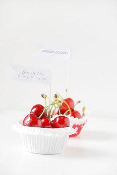Cherry wedding ideas