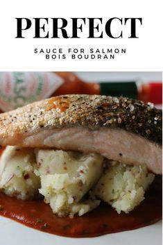 Perfect Sauce for Salmon, created by the great Michel Roux senior the punchy bois boudran. The is a homemade sauce that will light up a plate of food brilliant. Sauce For Salmon, Homemade Sauce, Prawn, Pork Chops, Ribs, Chicken Wings, Spices, Lovers, Plates